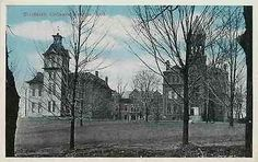 Angola Indiana IN 1920s Tri State College Campus Collectible Vintage Postcard