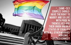 Justice Kennedy on Same Sex Marriage