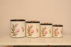 34 34 00 Vintage Decorware Kitchen Canister Sets Metal Kitchen Set