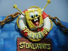 Children and adults across the nation love a new character that has grown quite popular over the past few years, Spongebob Squarepants. Universal Studios has recently opened up a new addition to it's Orlando location called Spongebob Storepants.  #spongebobsquarepants #universalstudios #orlando #internationaldrive