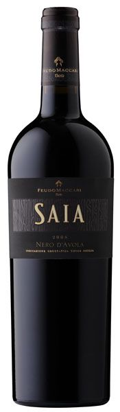 Saia - Nero d'Avola - Feudo Maccari #naming #packaging #design #concept #vino