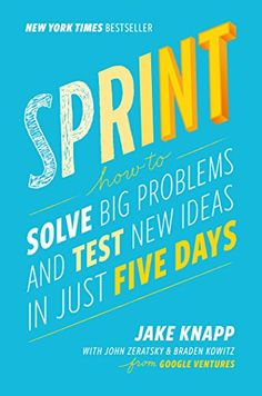 Sprint: How to Solve Big Problems and Test New Ideas in J... http://smile.amazon.com/dp/150112174X/ref=cm_sw_r_pi_dp_b-6qxb0KZ5278