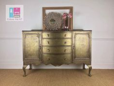 Fusion Mineral Paint Colors Bedford With Metallic Bronze On Top Funky Furniture