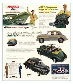 Morris Minor Sweat Classique Voiture auto Cool Rétro London To Brighton Fun