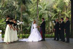 Outdoor Rainforest Ceremony Venue