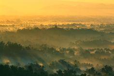 Nirwana Sunrise Borobudur from Bukit Punthuk Setumbu
