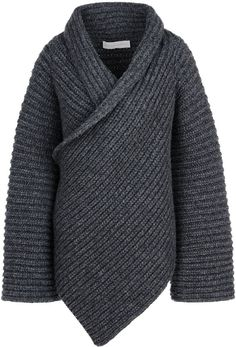 Fisherman's rib cardigan