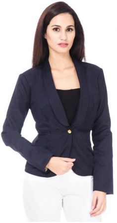 Dream Flower Blazer Fit: Regular Model Statistics: Model Wears: S, Height: 5'8″, Bust: 33″, Waist: 26.5″, Hips: 36″ Care: Dryclean only Material: Main: Cotton Blend, Lining: Polyester Crepe