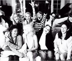 Taylor Swift, Emma Stone, Jamie King, Amanda Griffin, Lena Dunham, Odeye   Rush, Ingrid Michaelson, Jessica Zahr and Jessica Stam
