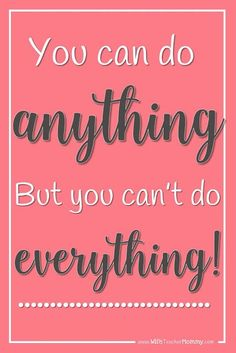 You can do ANYTHING-