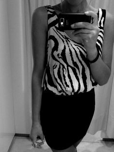 obsessed with zebra clothes