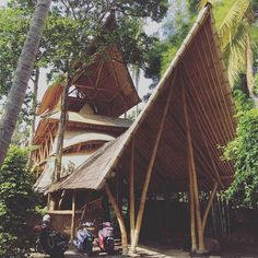SnapWidget | Awesome bamboo architecture in Bali