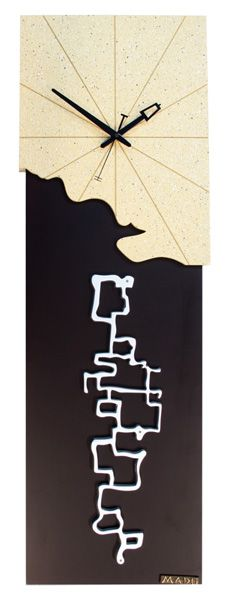 MD-558 Pilgrimage Articul: T078 Material: pine, polymer Size: 28 x 90 x 5 cm The clock symbolizes the value of discovering new lands and countries. Along my journey through this transitory world, new year's housecleaning Matsuo Basho www.mado-clock.com