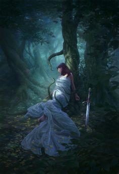 Forest Mage by *chvacher on deviantART