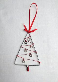 Christmas Tree Ornament Bicycle Spoke by Winterwomandesigns, $7.50