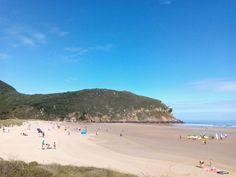17/08: Otro bonito día para estar disfrutando de nuestra maravillosa playa de Berria. ¡Santoña te espera!