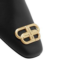 Balenciaga - Women's Flat Cosy BB Mule Slide Sandals Black Sandals, Shoes Sandals, Balenciaga Womens, Slide Sandals, Womens Flats, Cosy, Bb, Shopping, Accessories