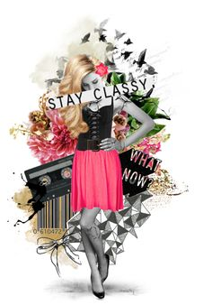 """""""Stay classy."""" by pink-bow on Polyvore"""
