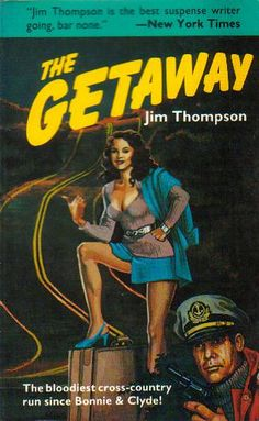 https://flic.kr/p/61rSxM | The Getaway by Jim Thompson | Cover art by Nancy MacGregor. A Black Lizard Book, Creative Arts (1984).
