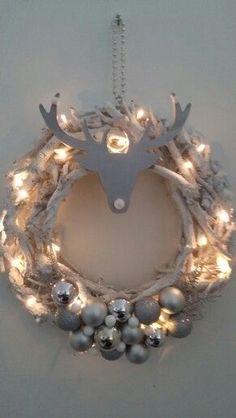 18 einfache DIY Ideen um Dein Haus zu Weihnachten festlich zu dekorieren! - DIY Bastelideen