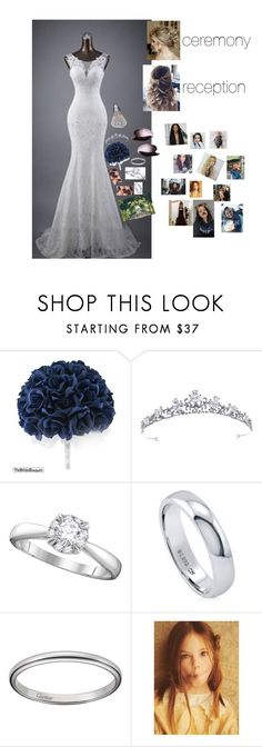 """""""THE WEDDING 💍👰🏼"""" by totallyelizabeth ❤ liked on Polyvore featuring BERRICLE, GET LOST and BeBop"""