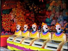Royal Adelaide Show Sideshow clowns...