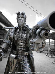 Steampunk Hellboy. - Imgur