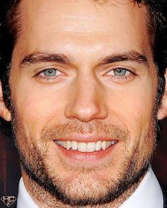 "Henry Cavill yummm.. @Claudia Park Park Rodriguez I almost pinned this in ""For the Home."""