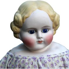 "18"" Glass-Eyed, German Child by ABG from signaturedolls on Ruby Lane"