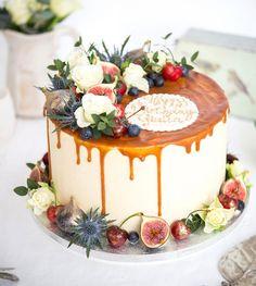 "166 Likes, 11 Comments - Sammi-jo Gascoyne (@blushingcook) on Instagram: ""Special salted caramel birthday cake 🍒🌿"""