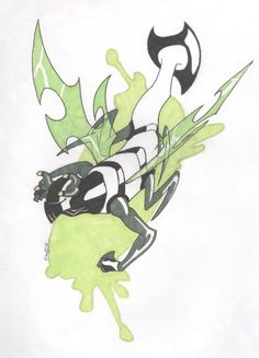 Stinkfly by Underbase on DeviantArt Ben 10, Cool Dragon Drawings, Cn Network, Hi Boy, Drawing Now, Cool Dragons, Anime, Cartoon Network, Weapons