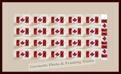 Commemorating the 50th anniversary of Canada's flag. http://germotte.ca/custom-framing.html      #canada   #flag   #canadianflag   #50thanniversary