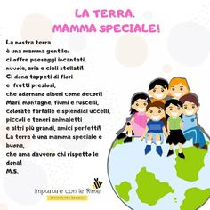 Oggi... Giornata Mondiale della Terra! . . . . . . . . . . #giornatadisole #giornatadellaterra #terra #mondo #natura #ambiente #benessere… Kids Birthday Gifts, First Birthday Photos, Learning Italian, Yoga For Kids, Nursery Design, Save The Planet, I School, Earth Day, Kids Playing