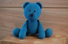 #Teddybear #Crochet #Amigurumi