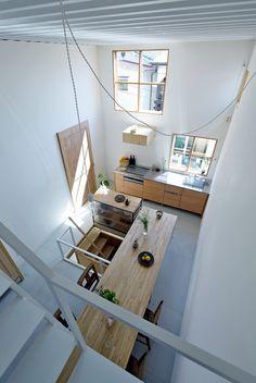 Maison japonaise à trois niveaux (12)