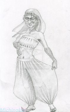 Betti, the rhinestone of the desert. - Corporal Nobby Nobbs (Jingo) by UlyanaShkuratova.deviantart.com on @deviantART