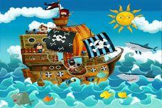 Piratenfeest organiseren voor kinderen van 5 tot 10 jaar. Verander een verjaardagsfeest in een piratenfeest thuis. Dit is geschikt voor jongens en meisjes.