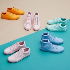"Vans x Opening Ceremony ""Easter Pack"" - EU Kicks: Sneaker Magazine Pastel Vans, Moda Outfits, Clothing Photography, Product Photography, Fashion Shoes, Mens Fashion, Shoe Sites, Shoes Photo, Sneaker Magazine"