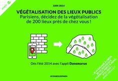 DansMaRue : Végétaliser les Rues de Paris grâce à une Application Mobile