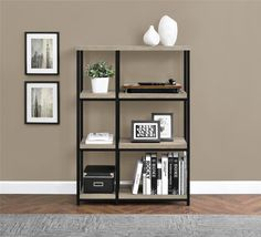 $99 Amazon.com: Altra Elmwood Bookcase, Sonoma Oak: Kitchen & Dining