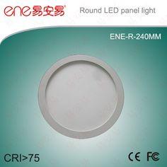 240mm led round panel light www.ene-led.com