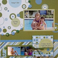 scrapbooking layouts | Scrapbooking Pages with Many Photos