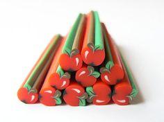 Polymer Clay Apple