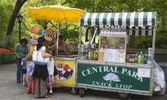 New York Central Park Snack New York Central, Central Park, New York Dance, Hot Dog Cart, Hot Dog Stand, New York Food, Ice Cream Van, Street Vendor, Cold Brew Coffee Maker