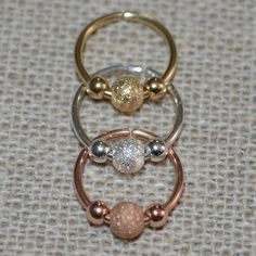 14k Gold Filled Nose Ring 20g Extra Small by ModernJewelBoutique, $8.95