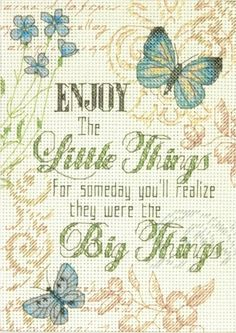 Little Things Cross Stitch Kit £11.50 | Past Impressions | Dimensions