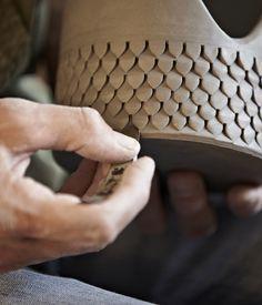 Ceramics carving