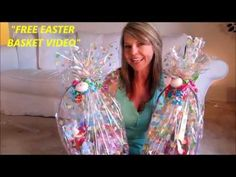 This is video 4 on how to make an easter gift basket look at the two easter gift baskets i made for my good friends judys grandchildren negle Gallery