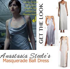 ana silver grey dress 50 fifty shades darker dakota
