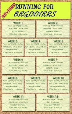 running schedule